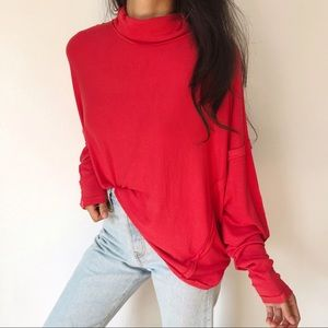 Free People ribbed Alameda top